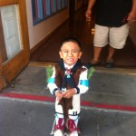 Cutest Child Ever in Santa Fe