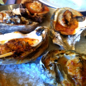 wood-fired oyster roast