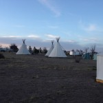 Teepee campground